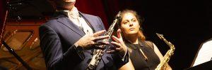 Huw Wiggin of the Ferio Quartet