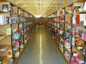 Askews & Holts Library bookshelves