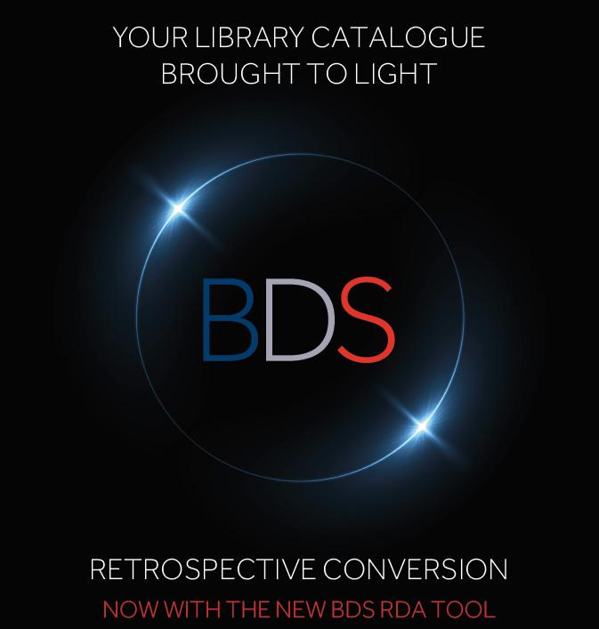 bds retrospective conversion advert