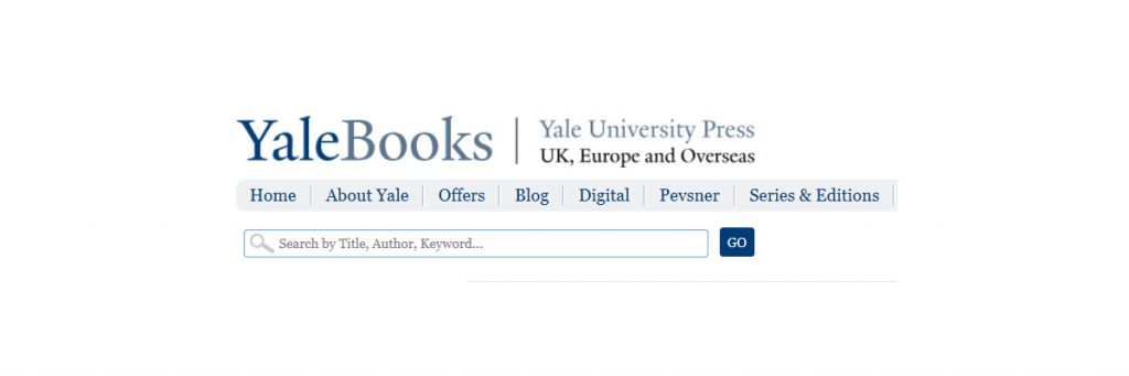 yale books website banner