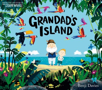 Grandad's island book cover